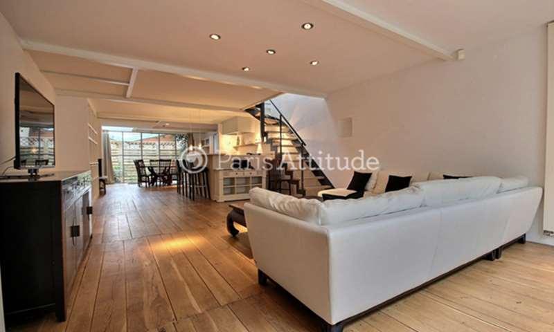 Rent Townhouse 2 Bedrooms 128m² rue de la Clef, 5 Paris