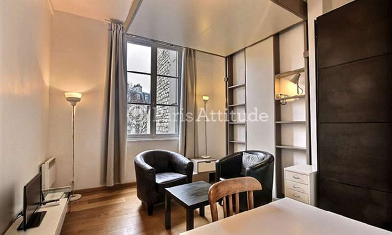 Rent Apartment Studio 21m² Quai de la Tournelle, 5 Paris