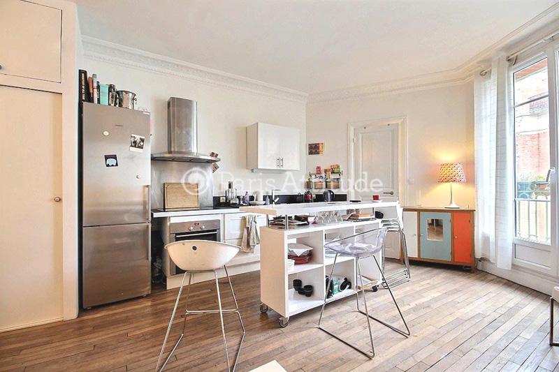 Louer un appartement paris 75018 33m jules joffrin ref 11262 for Louer une chambre sans fenetre