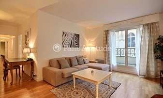 Rent Apartment 2 Bedrooms 75m² rue Leonard de Vinci, 16 Paris