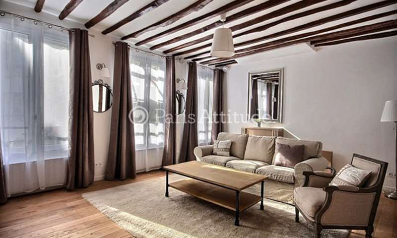 Rent Apartment 1 Bedroom 52m² rue Rambuteau, 3 Paris