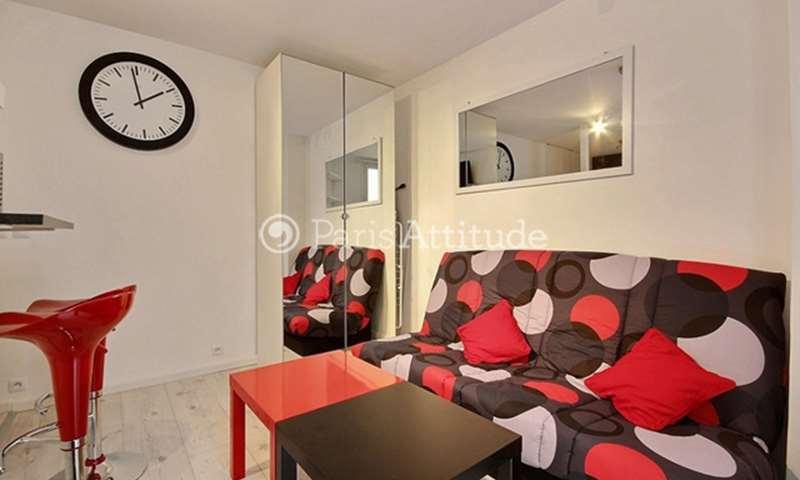 Rent Apartment Studio 19m² rue de la Folie Regnault, 11 Paris
