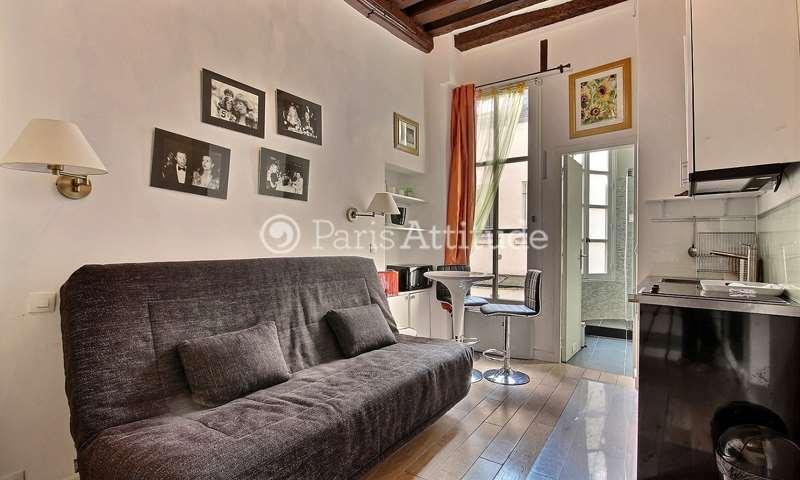 Rent Apartment Studio 15m² rue de Saintonge, 3 Paris