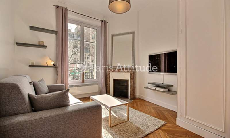 Rent Apartment Studio 21m² avenue des Ternes, 75017 Paris