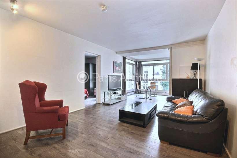 Rent furnished Apartment 1 Bedroom 60m² rue Chanez, 75016 Paris