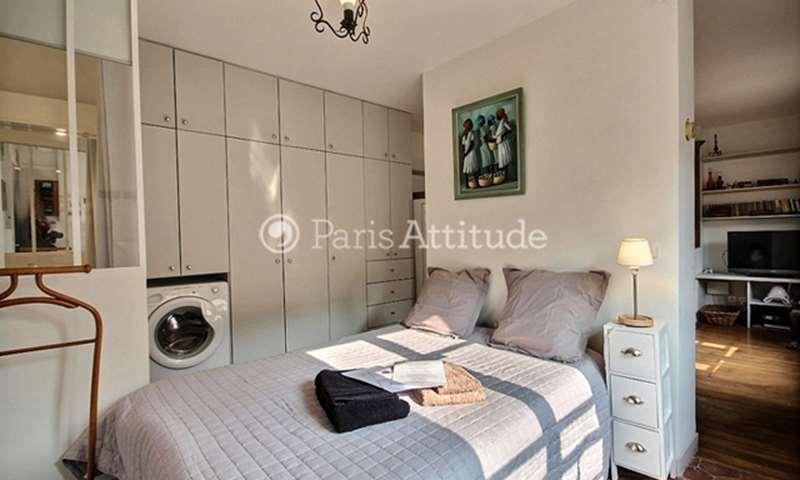 Rent Apartment Studio 26m² rue La Condamine, 17 Paris