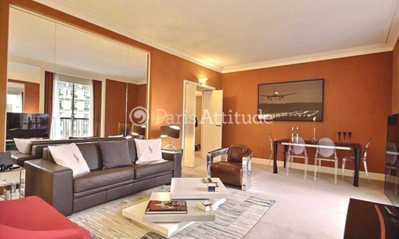 Rent Apartment 2 Bedrooms 100m² avenue Montaigne, 8 Paris