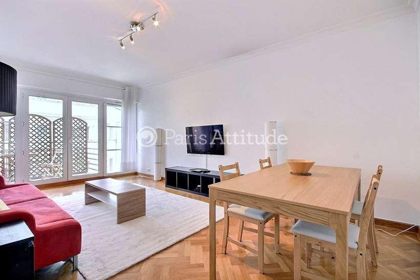 Rent furnished Apartment 1 Bedroom 55m² rue des Patures, 75016 Paris