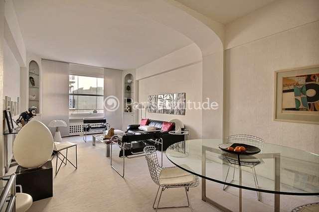 Rent furnished Apartment 2 Bedrooms 98m² avenue Paul Doumer, 75016 Paris