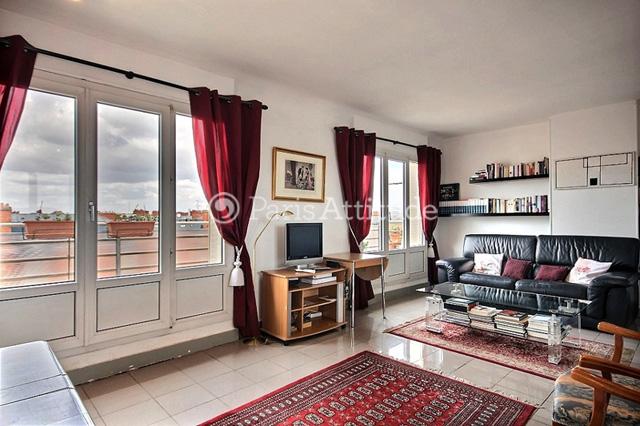 Rent apartment in paris 75017 45m porte de champerret for Living room 4x5