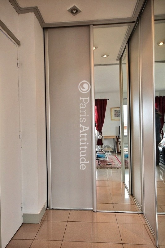 Louer un appartement paris 75017 45m porte de - Porte champerret salon ...