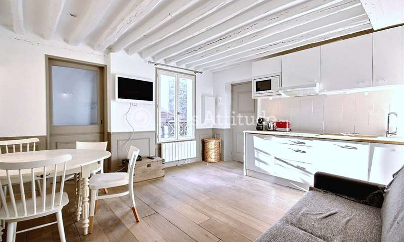 Rent Apartment 1 Bedroom 30m² rue Beautreillis, 4 Paris