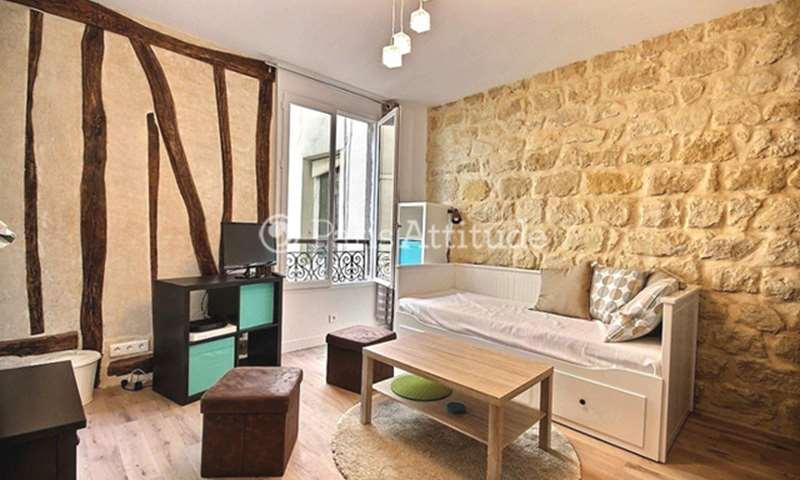 Rent Apartment Studio 25m² passage Ramey, 75018 Paris
