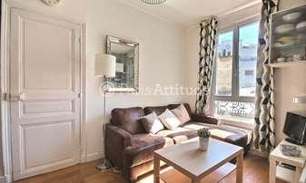 Rent Apartment 1 Bedroom 26m² rue de Crimee, 19 Paris