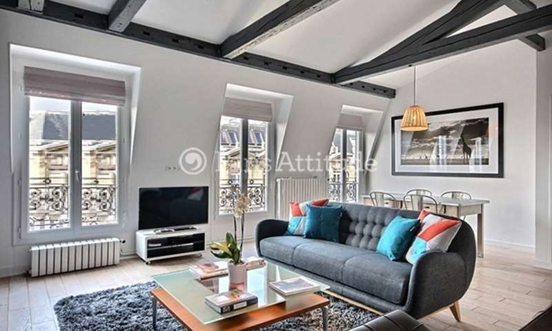 Location Appartement 2 Chambres 78m² rue de La Tremoille, 8 Paris