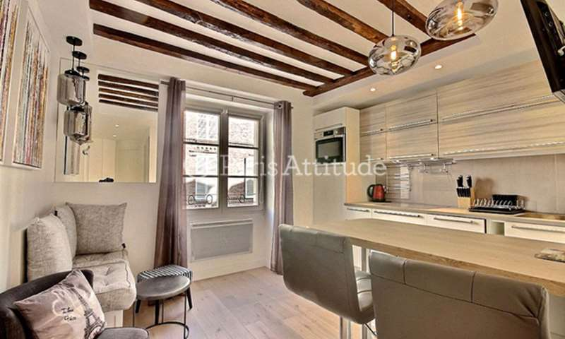 Rent Apartment 1 Bedroom 27m² rue Debelleyme, 75003 Paris
