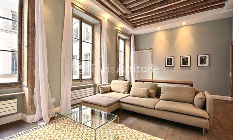 Rent Apartment 2 Bedroom 60m² rue du Vingt Neuf Juillet, 75001 Paris