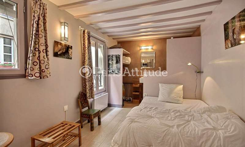 Rent Apartment Studio 15m² rue des Archives, 3 Paris