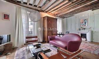Rent Apartment 1 Bedroom 68m² place des Vosges, 4 Paris
