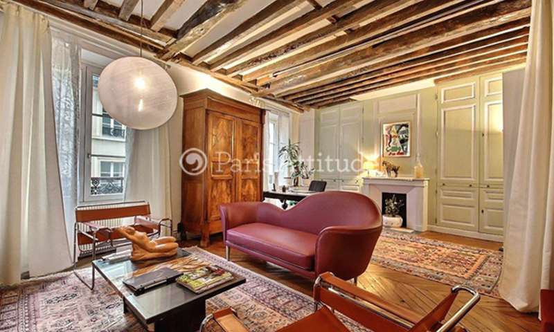 Rent Apartment 1 Bedroom 68m² place des Vosges, 4 Paris