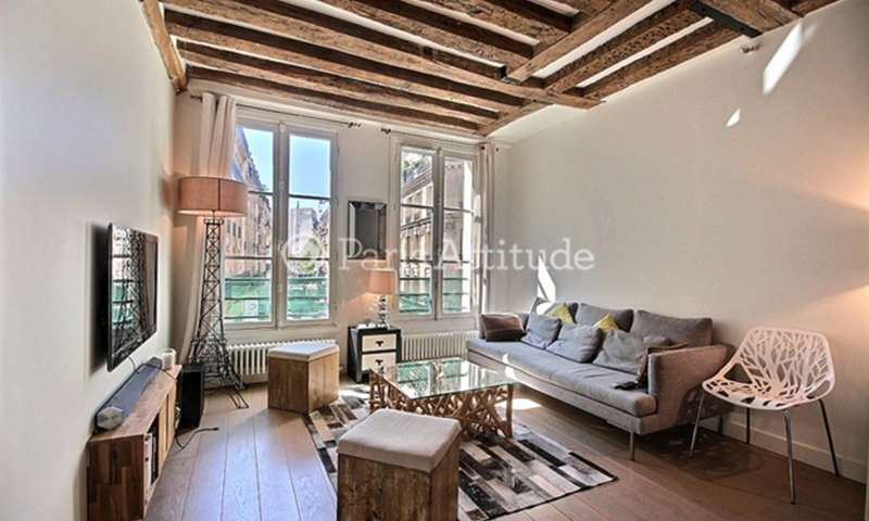 Rent Apartment 1 Bedroom 47m² rue Saint Denis, 75002 Paris