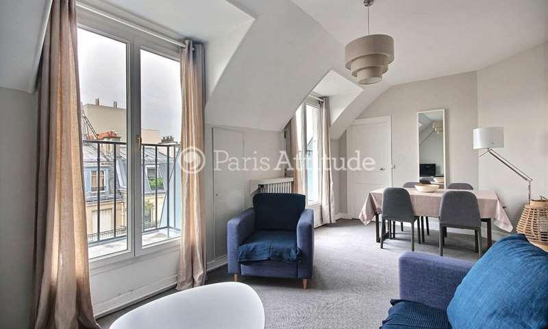 Rent Apartment 1 Bedroom 40m² rue de la Pompe, 16 Paris