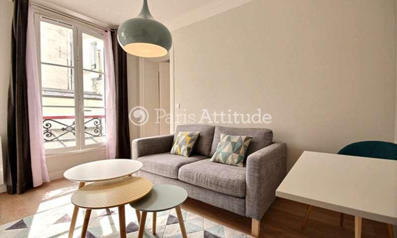 Rent Apartment 1 Bedroom 27m² rue Saint Sauveur, 2 Paris