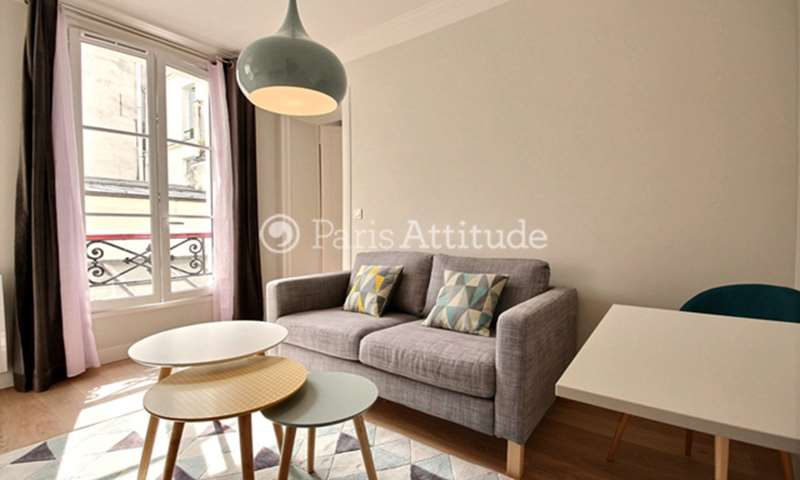 Rent Apartment 1 Bedroom 27m² rue Saint Sauveur, 75002 Paris