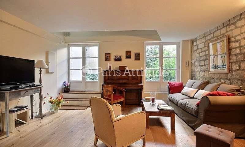 Location Duplex 1 Chambre 75m² rue du Parc Royal, 75003 Paris