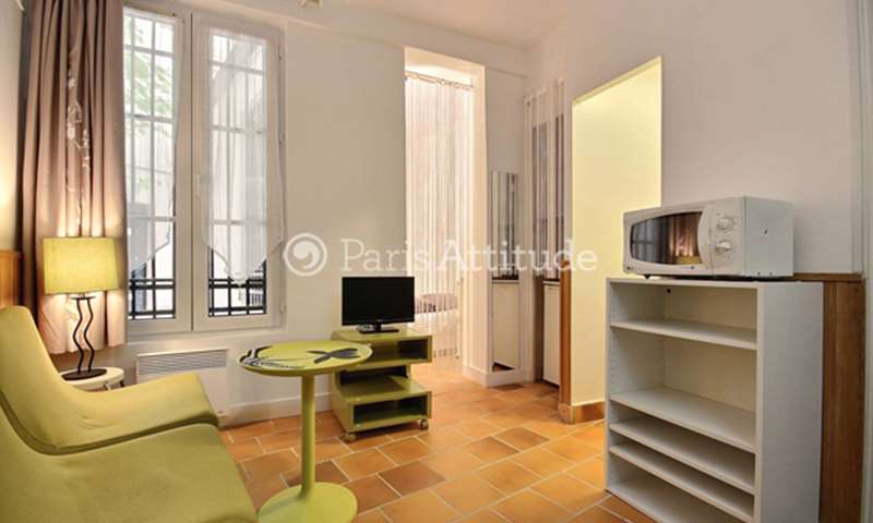 Location Appartement Alcove Studio 20m² rue d Hautpoul, 19 Paris