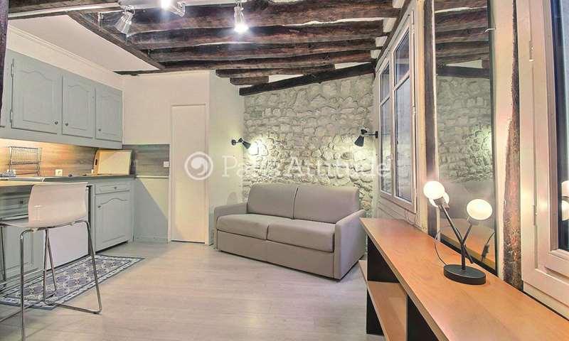 Location Appartement Studio 25m² rue de Poitou, 3 Paris