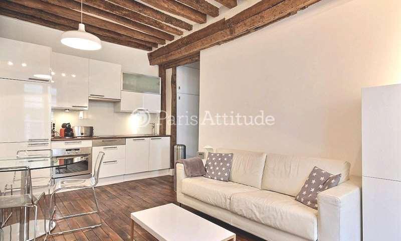 Rent Apartment 1 Bedroom 35m² rue Gregoire de Tours, 6 Paris