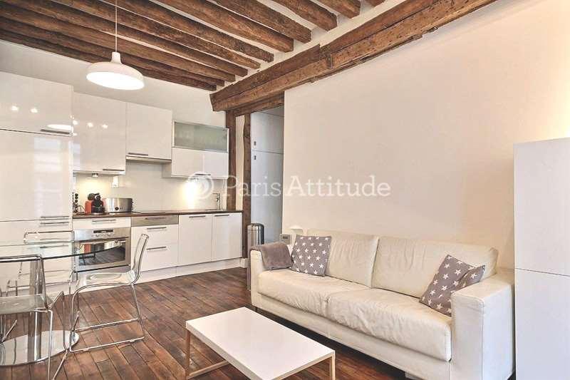 Rent furnished Apartment 1 Bedroom 35m² rue Gregoire de Tours, 75006 Paris
