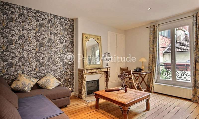 Rent Apartment 1 Bedroom 43m² rue de Chaillot, 16 Paris