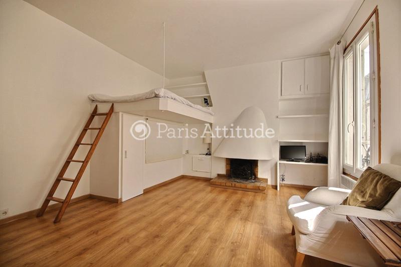 Louer un appartement paris 75011 19m charonne ref 11472 - Studio mezzanine ...