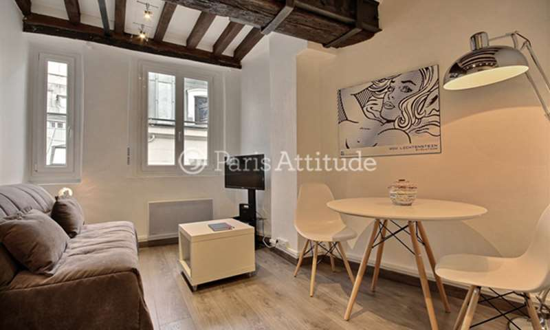 Rent Apartment Studio 19m² rue Herold, 75001 Paris