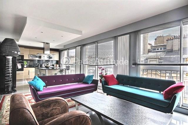 Rent Apartment 3 Bedroom 110m² rue Nicolo, 75016 Paris