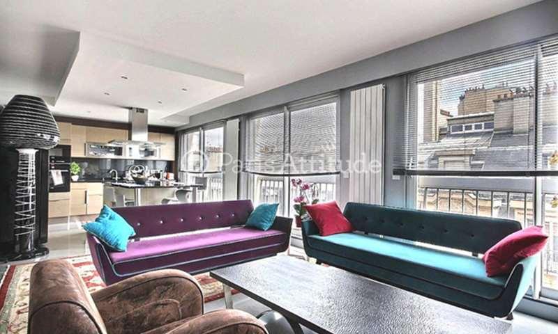 Rent Apartment 3 Bedrooms 110m² rue Nicolo, 16 Paris