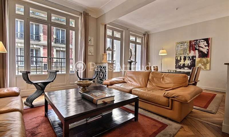 Rent Apartment 1 Bedroom 82m² Villa Monceau, 17 Paris