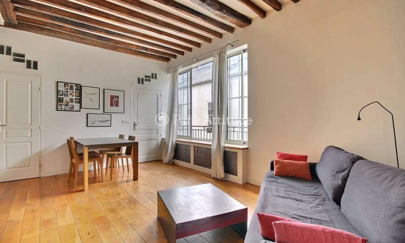 Rent Apartment 1 Bedroom 52m² rue du Faubourg Saint Antoine, 11 Paris