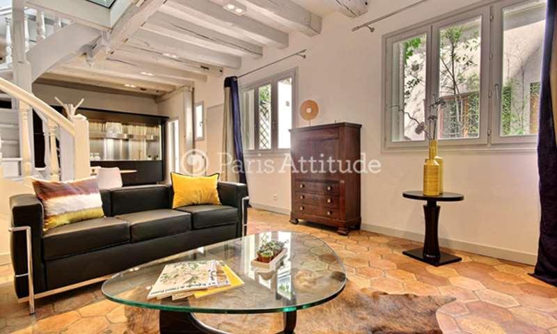Location Maison de Ville 2 Chambres 90m² avenue de Breteuil, 75007 Paris