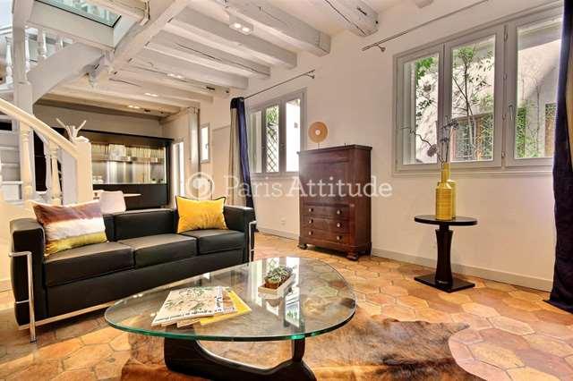 Rent furnished Townhouse 2 Bedrooms 90m² avenue de Breteuil, 75007 Paris
