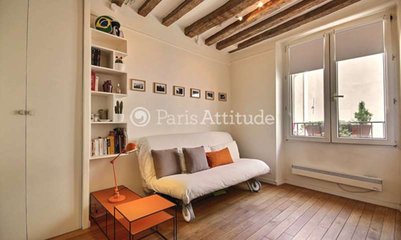 Rent Apartment Studio 15m² rue de Clery, 75002 Paris