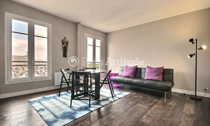 Rent Apartment 1 Bedroom 41m² rue d Orchampt, 75018 Paris