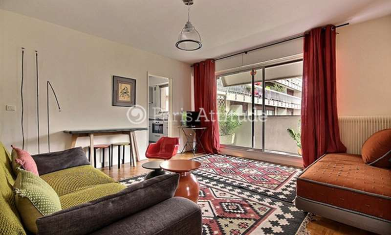 Rent Apartment 1 Bedroom 45m² rue de Lourmel, 15 Paris