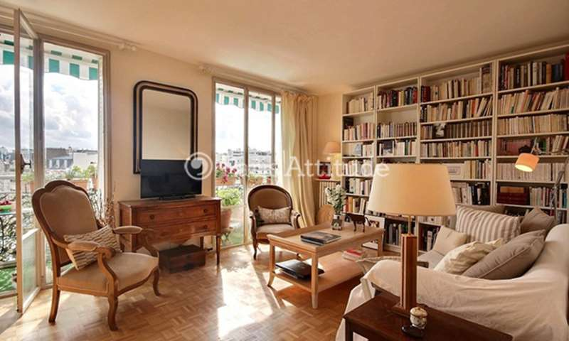 Rent Apartment 2 Bedroom 66m² rue Ribera, 75016 Paris