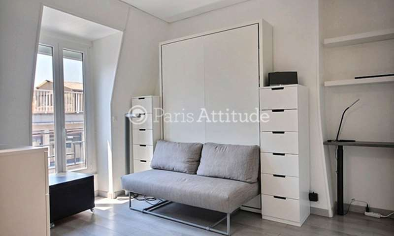Rent Apartment Studio 19m² rue Lemercier, 17 Paris