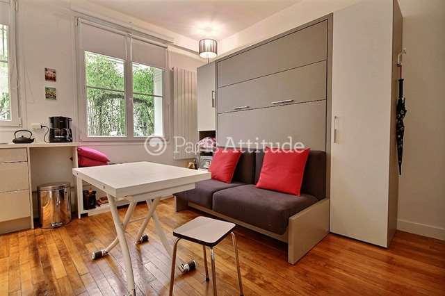 Rent furnished Apartment Studio 17m² rue Dupetit Thouars, 75003 Paris