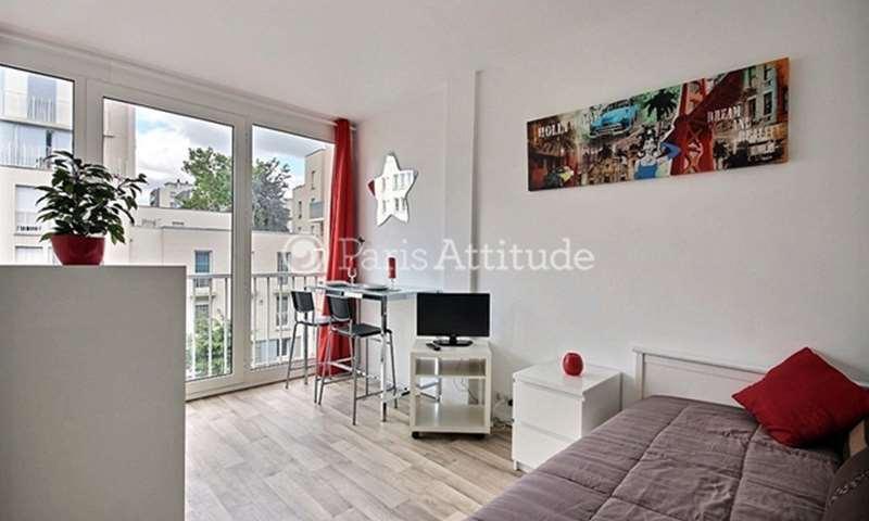 Rent Apartment Studio 18m² Rue des Longs Prés, 92100 Boulogne Billancourt