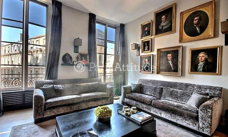 Rent Apartment 1 Bedroom 60m² rue de la Banque, 2 Paris